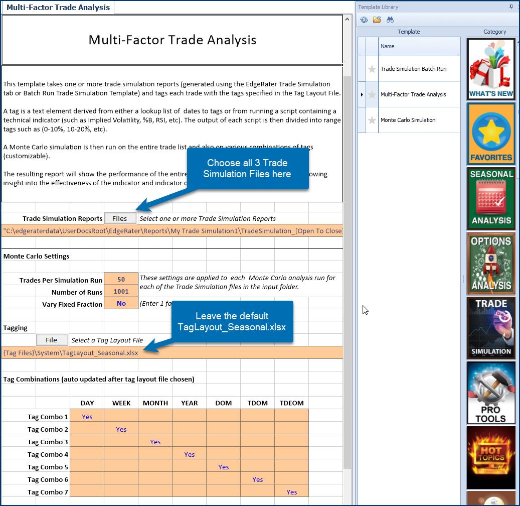Multi-Factor Trade Analysis Template