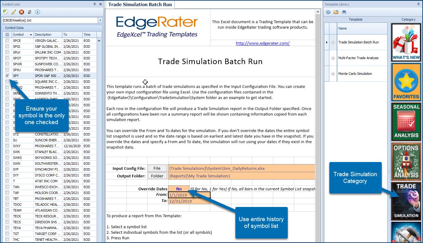 SPY Daily Trade Simulation